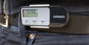 Omron Walking style One 2.1 mit Guertel Clip