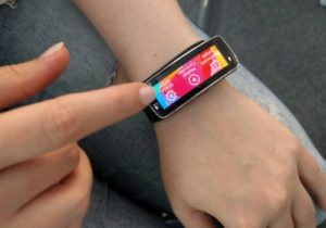 Samsung Gear Fit Bedienung