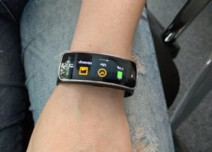 Samsung Gear Fit Optionen