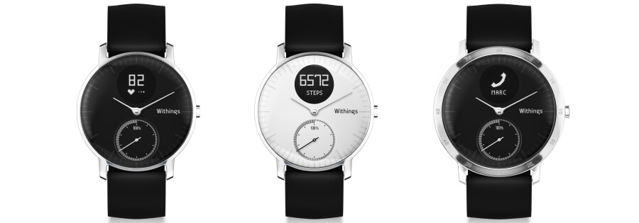 Withings Activé Steel HR Uhr